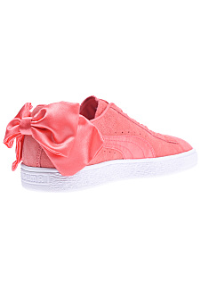 new style a3dcf f6d78 Puma Suede Bow - Sneakers for Women - Pink