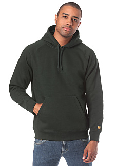 8e29d402 carhartt WIP. Chase - Hooded Sweatshirt for Men. €74.95. incl. VAT plus  shipping costs. Red Green ...