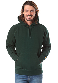 30e113b3 carhartt WIP Chase - Hooded Sweatshirt for Men - Green - Planet Sports