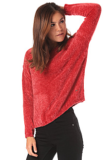 PEPE JEANS Silke - Knitted Pullover for Women - Red 341444de9