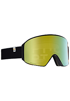 5980ebdee22d7 ANON M4 Cylindrical - Snowboard Goggle for Men - Black