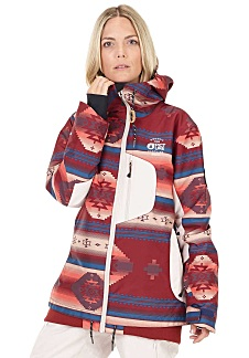 Planet Snowboard Rood Jas Sports Dames Voor Picture Milk YfqWU