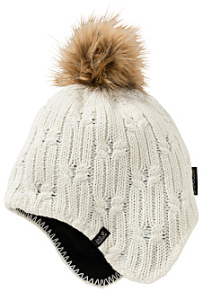 618d754c5c1 Jack Wolfskin Stormlock Braid - Beanie for Women - White