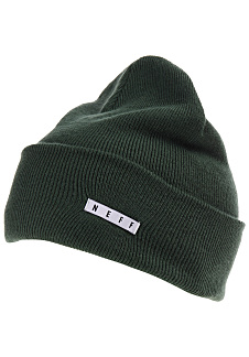 8db2a81dc75 NEFF Lawrence - Beanie - Green