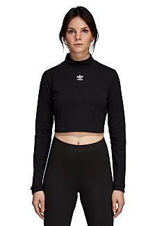 614e8bbba89 Next. This product is currently out of stock. ADIDAS ORIGINALS. Sc Cropped  - Long-sleeved ...