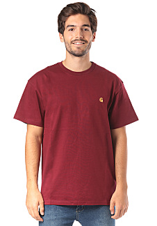 777094d1 carhartt WIP Chase - T-Shirt for Men - Red - Planet Sports