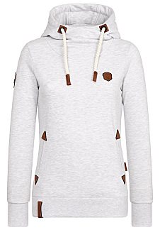 Hooded Sweatshirt for Women - Grey 74076d5d27a