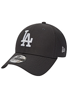 NEW Era 39Thirty Diamond Los Angeles Dodgers - Gorra de ajuste flexible -  Gris cd56b88ee33