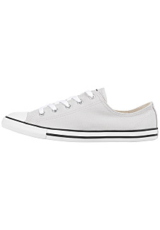 8463b9cfab6fb Converse Chuck Taylor All Star Dainty Ox - Baskets pour Femme - Gris