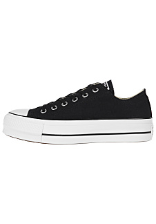 Converse Chuck Taylor All Star Lift Ox - Sneakers for Women - Black 36e678ec76