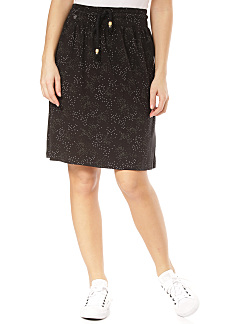 2ce91b8bfc ragwear Tigua Organic - Skirt for Women - Black