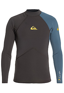 c2aca69e944d1b Quiksilver Highline Plus 2mm L/S - Neopreen top voor Heren - Zwart