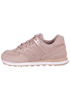 NEW BALANCE WL574 B - Sneakers for Women - Pink f1ea6b481a