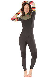 BILLABONG Salty Dayz 4 3Mm Chest Zip - Wetsuit for Women - Multicolor 1428d2f38ca