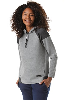 879ab3451a Roxy Midnight Call - Sweat à capuche pour Femme - Gris