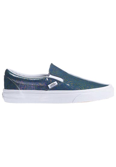 Classic Slip Damen Vans Blau Für On Planet Ons Sports ZkiXPu
