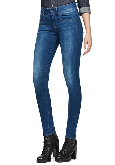 Star Sports Skinny G Raw Blau New Jeans Planet Mid Lynn Für Damen 5Sc4j3ARLq
