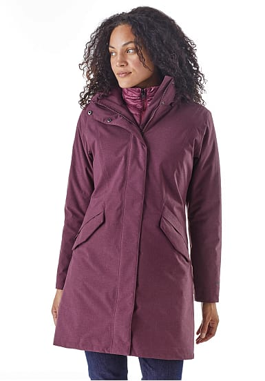 3 Damen In Patagonia 1 Vosque Outdoorjacke Lila Für ZwPiTuOkX