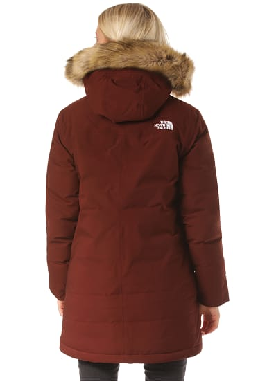 Cagoule North Für Outdoorjacke Face The Gtx Damen Parka Rot nw0Pk8OX