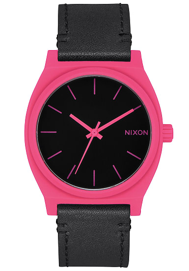 nixon time teller uhr f r herren schwarz planet sports. Black Bedroom Furniture Sets. Home Design Ideas