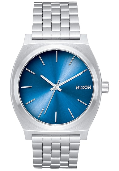 nixon time teller uhr f r herren blau planet sports. Black Bedroom Furniture Sets. Home Design Ideas