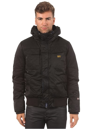 G star herren jacke mfd field hooded bomber