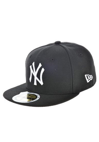 NEW Era 59Fifty New York Yankees - Fitted Cap - Schwarz - Planet Sports 050a0e49e2
