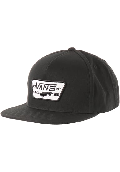 Full Patch Snapback Cap by Vans