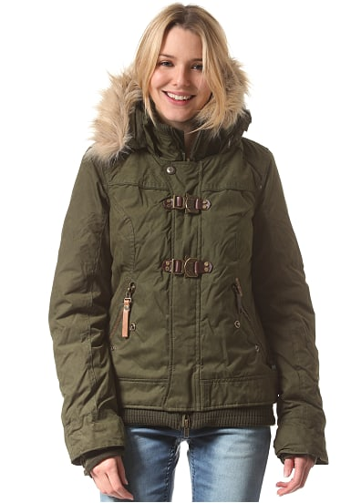 Khujo ashley damen winterjacke