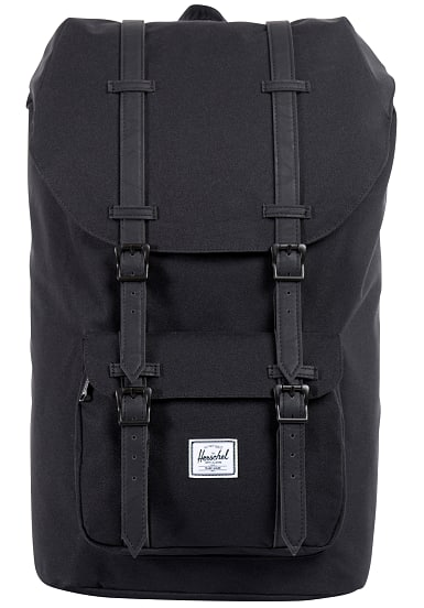 herschel supply co little america 25l rucksack schwarz. Black Bedroom Furniture Sets. Home Design Ideas
