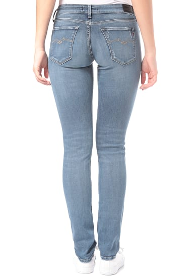 Replay Luz Jeans für Damen Blau