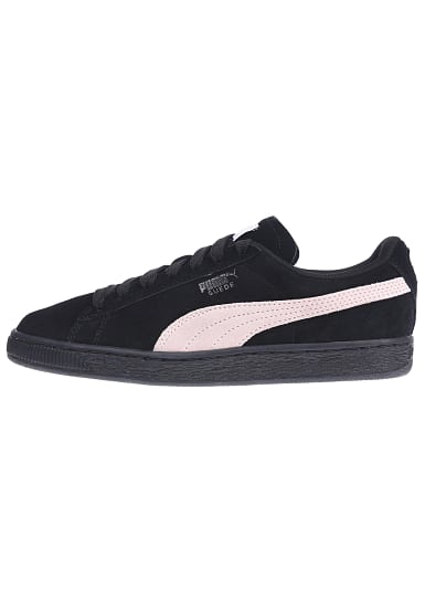 puma suede classic sneaker f r damen schwarz planet. Black Bedroom Furniture Sets. Home Design Ideas