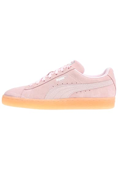 puma suede classic bubble sneaker f r damen pink. Black Bedroom Furniture Sets. Home Design Ideas
