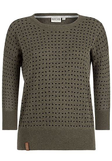 lowest price 5aa44 17817 NAKETANO Maja With Melons - Strickpullover für Damen - Grün