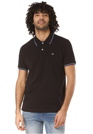 more photos a0303 e2785 Champion Polo Auth - Polohemd für Herren - Schwarz