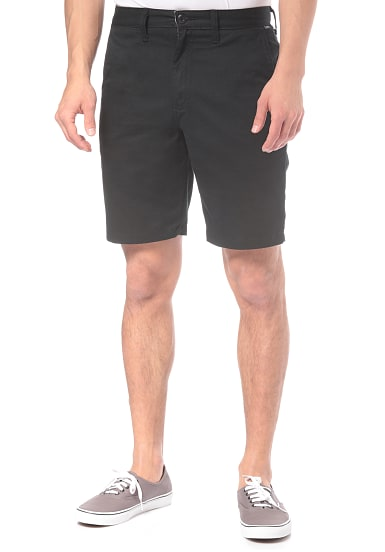 VANS Authentic Stretch Chino Shorts für Herren Schwarz