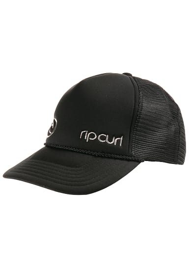 rip curl hot wire trucker cap f r damen schwarz. Black Bedroom Furniture Sets. Home Design Ideas