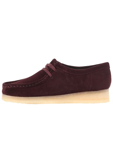 wholesale dealer 9a0e0 6a0f9 CLARKS ORIGINALS Wallabee - Fashion Schuhe für Damen - Rot