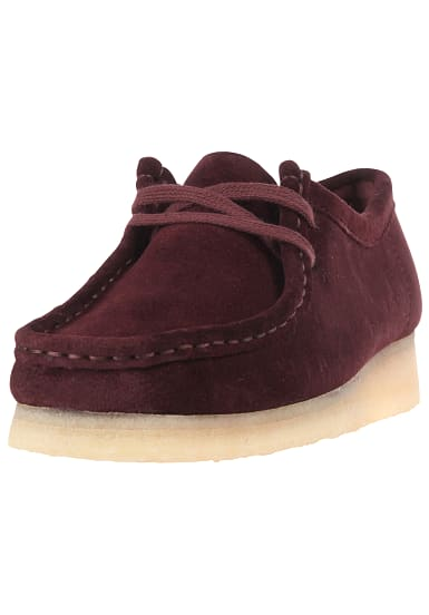 CLARKS ORIGINALS Wallabee Fashion Schuhe für Damen Rot