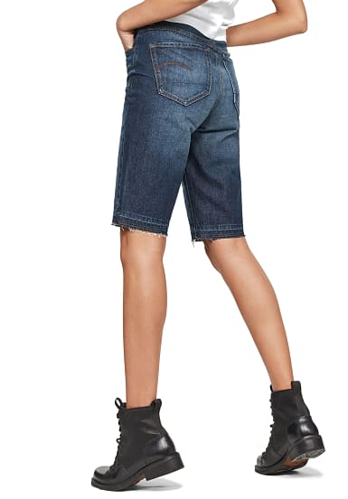 G STAR RAW 3301 High Straight Shorts für Damen Blau