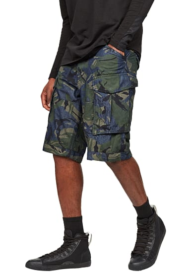 g star raw rovic relaxed 1 2 cargo shorts f r herren. Black Bedroom Furniture Sets. Home Design Ideas