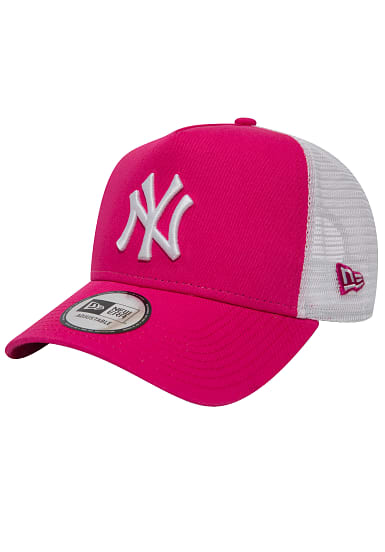 new era new york yankees trucker cap f r damen pink. Black Bedroom Furniture Sets. Home Design Ideas