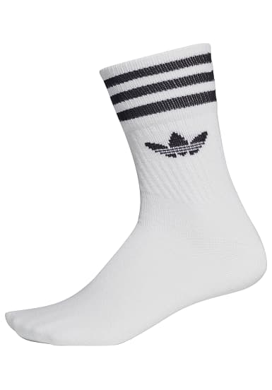 more photos 19af6 8669e adidas Originals Mid Cut Crew - Socken - Weiß