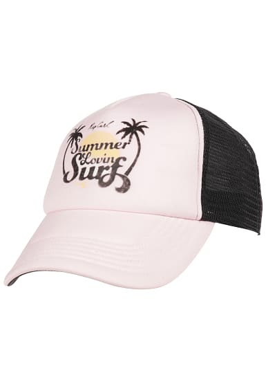 rip curl summer lovin trucker cap f r damen pink. Black Bedroom Furniture Sets. Home Design Ideas
