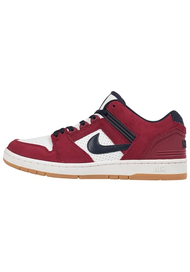 official release info on fantastic savings NIKE SB Air Force II Low - Sneaker für Herren - Rot