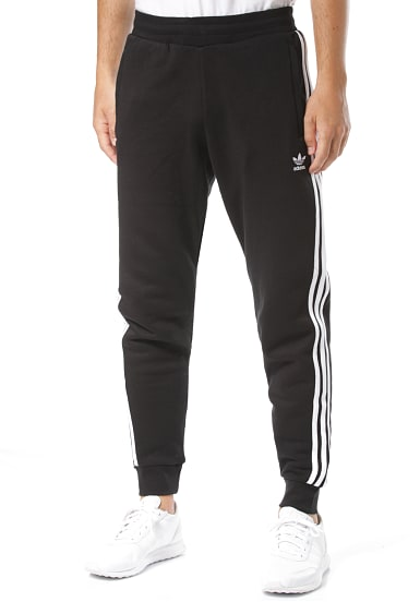 adidas Originals 3 Stripes Trainingshose für Herren Schwarz