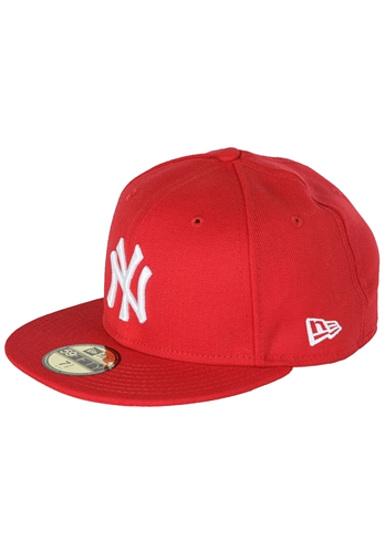 NEW Era 59Fifty New York Yankees - Fitted Cap - Red - Planet Sports 0be6d47e80b