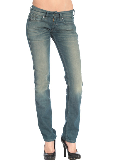Levi's 571 Slim Fit Jeans - Denim Jeans for Women - Blue - Planet ...