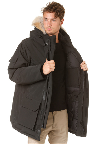 Canada Goose victoria parka online shop - CANADA GOOSE Expedition - Functional Jacket for Men - Black ...