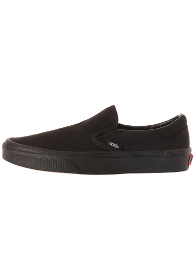 vans classic slip ons noir planet sports. Black Bedroom Furniture Sets. Home Design Ideas